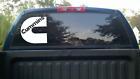 7 inch Cummins Decal Vinyl Window Dodge Sticker Diesel White Truck