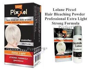 ane pixxel hair bleaching powder extra light strong