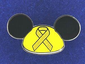 Mickey Ears Disney Fantasy Childhood Cancer Awareness Pin