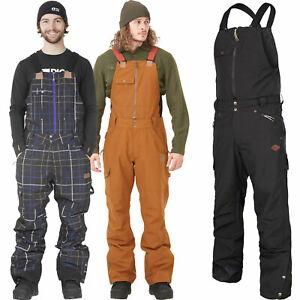 Picture Yakoumo Bib Pantalon Hommes-Pantalon de Ski Pantalon de Neige Neuf
