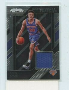 KEVIN KNOX 2018-19 PANINI PRIZM SENSATIONAL SWATCHES ROOKIE JERSEY RELIC #84