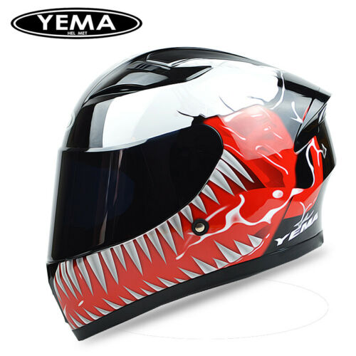 Motorcycle Full Face Helmet Anti-fog Venom Helmet 58-60CM