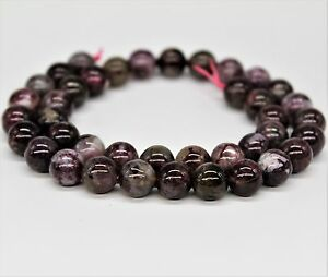 Pink Tourmaline Shining Round Beads For Bracelet Necklace Jewelry Design 6-12mm