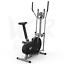 miniatura 25 - Deluxe 2-in - 1 Cross Trainer & Cyclette Allenamento di cardio fitness con sedile