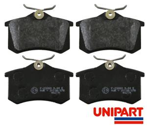 for Seat - CORDOBA / IBIZA Mk3 2002-2009 Rear Brake Pads Set Unipart