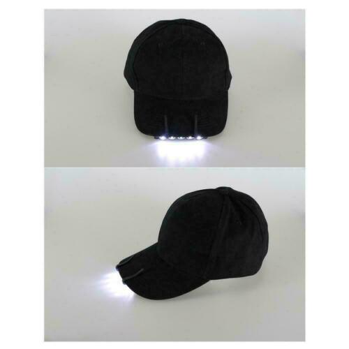 Outdoor Hot Clip On 5LED Head Cap Hat Light Head Lamp Torch UK Hunting F0L2