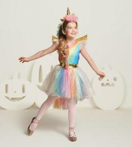 7fc77dbc0f1b2 Details about Kid GIRL Halloween Unicorn Costume FANCY DRESS Cosplay Party  Book Week Suit -r