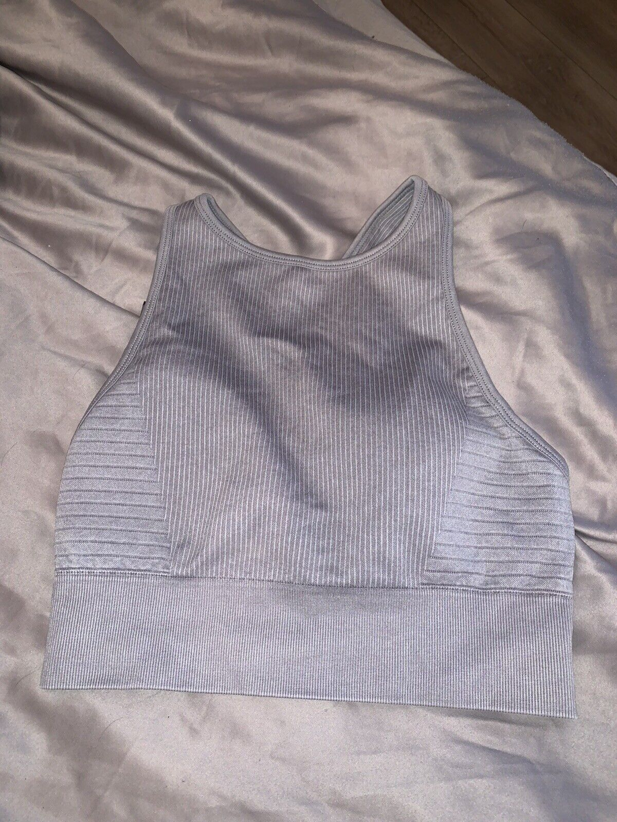 My Protein seamless grey sports bra. Size Small. Never been worn
