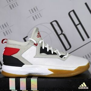 online store 13146 12811 Image is loading adidas-D-Lillard-2-F37123-Home-Dame-White-
