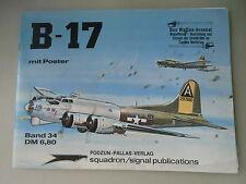 Waffen-Arsenal 34  mit Poster B-17
