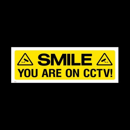 300mm x 100mm-sicurezza firmare misc3 CCTV VETROFANIA Videocamera avvertenza