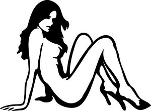 Sexy girl stickers
