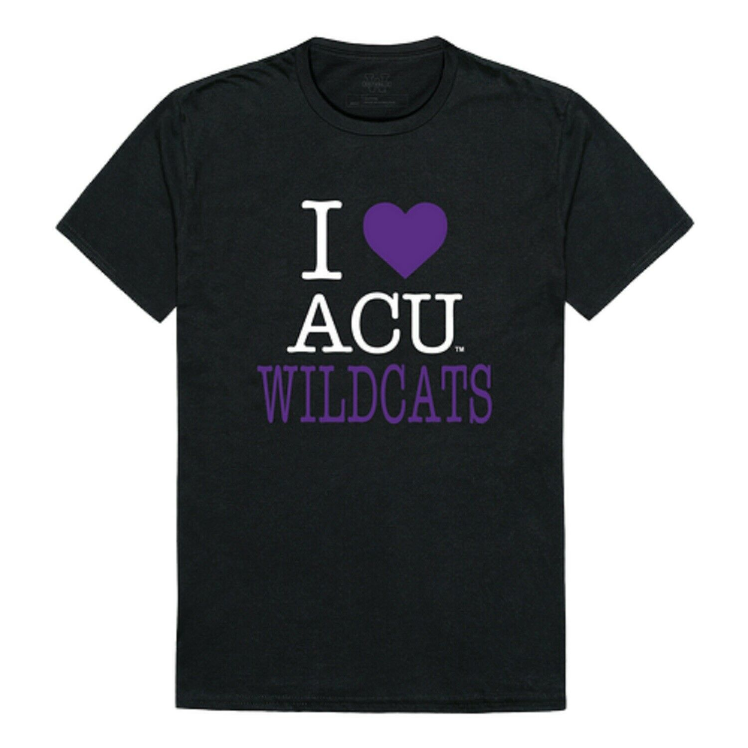NCAA Abilene Christian Wildcats T-Shirt I Love