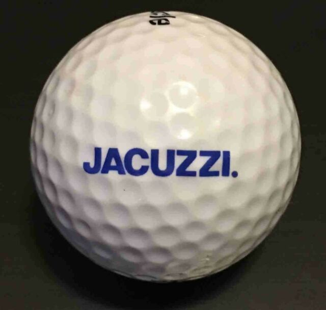 Jacuzzi Brothers Golf Ball Pinnacle 1 Gold