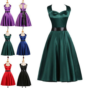 Vintage 1950s 1960s Style Retro Pinup Swing Prom Party