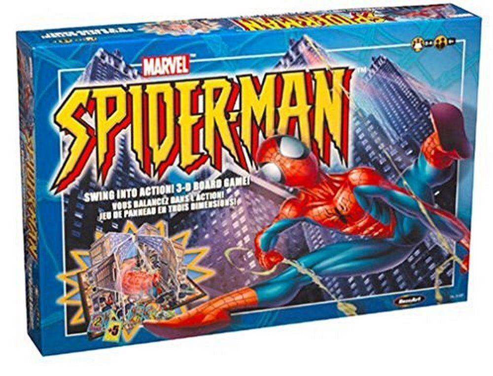 rosado Art Spiderman Swing en acción 3-D Juego De Mesa