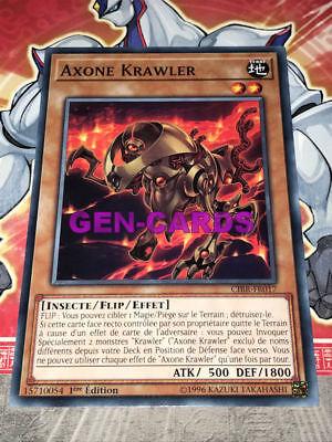 Carte Yu Gi Oh SYNAPHUNIS X-KRAWLER CIBR-FR048 x 3
