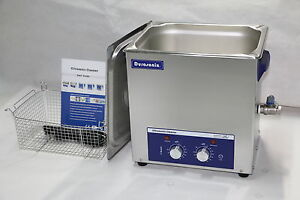 Durasonix-10L-Ultrasonic-Cleaner-with-Timer-amp-Heater-Stainless-built-industrial
