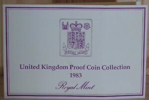 1983-Royal-Mint-United-Kingdom-Proof-Coin-Collection-Cert-of-Auth-COA