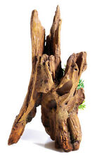Driftwood Column & Plants 60Ltr Biorb Aquarium Ornament Fish Tank Decoration