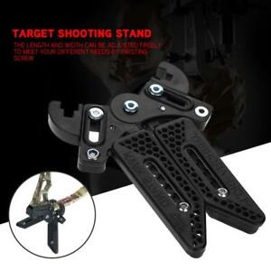Black-3D-Target-Hunting-Compound-Bows-Support-Rack-Archery-Bow-Stand-Holder-Legs