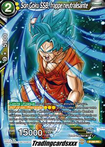 frappe neutralisante ♦Dragon Ball Super♦ Son Goku SSB P-088 PR VF