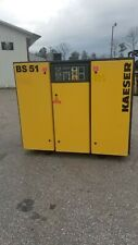 Used 40 Hp Kaeser Rotary Compressor With Full Quiet Enclosure