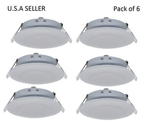 facon 6pcs rv led 4 5inch 12v recessed interior ceiling down