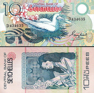 Seychelles 25 Rupees UNC P-29 1983 ND