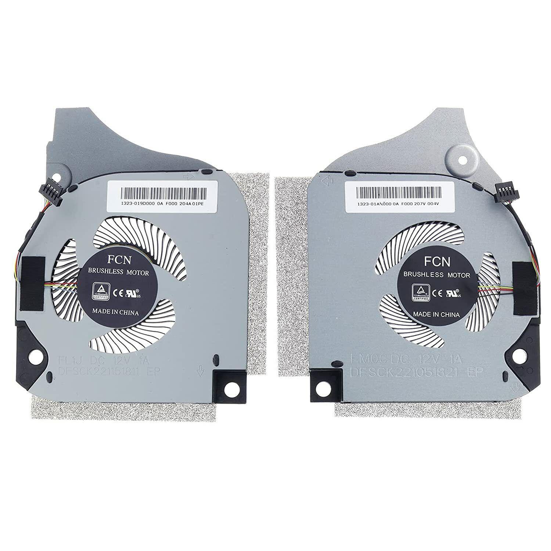 CN-0C04TH For DELL G5-5590 G7-7590 G7-7790 CPU GPU Cooling 4-Pin Fan DC12V 1.0A