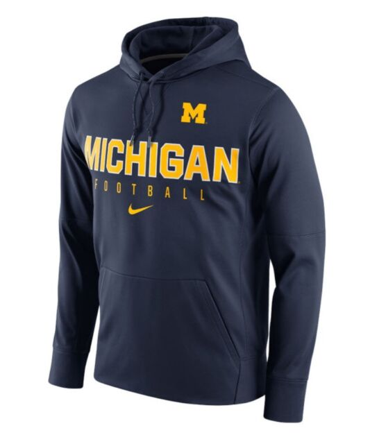Michigan Wolverines Nike Therma-Fit NCAA Circuit Performance L Hoodie  70 61e7de796