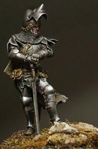Details about Resin soldier, museum, Zawisza Czarny, Polish knight,  nobleman, Poland, 75 mm