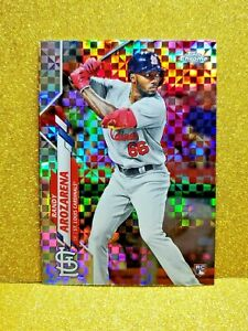 2020-Topps-Chrome-Randy-Arozarena-RC-Rookie-Card-Xfractor-Refractor-49-Gem-Mint