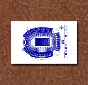 Ohio State Buckeyes Stadium Blueprint Plan BP0249