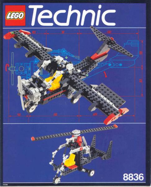 LEGO 8836 - Technic  modello  Airport -   cielo Ranger - 1992 - NO scatola  acquista online
