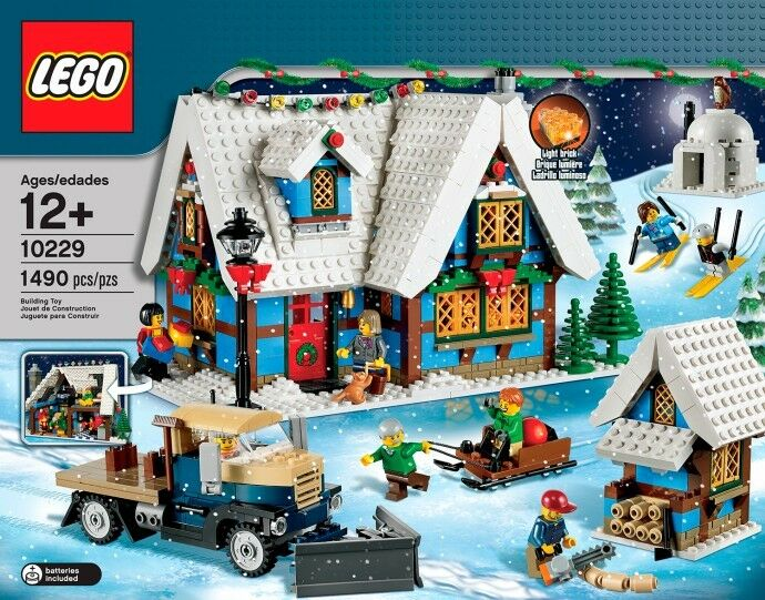 LEGO WINTER VILLAGE COTTAGE 10229 HOLIDAY HOLIDAY HOLIDAY MINT BRAND NEW, SEALED FAST SHIPPING 89a063