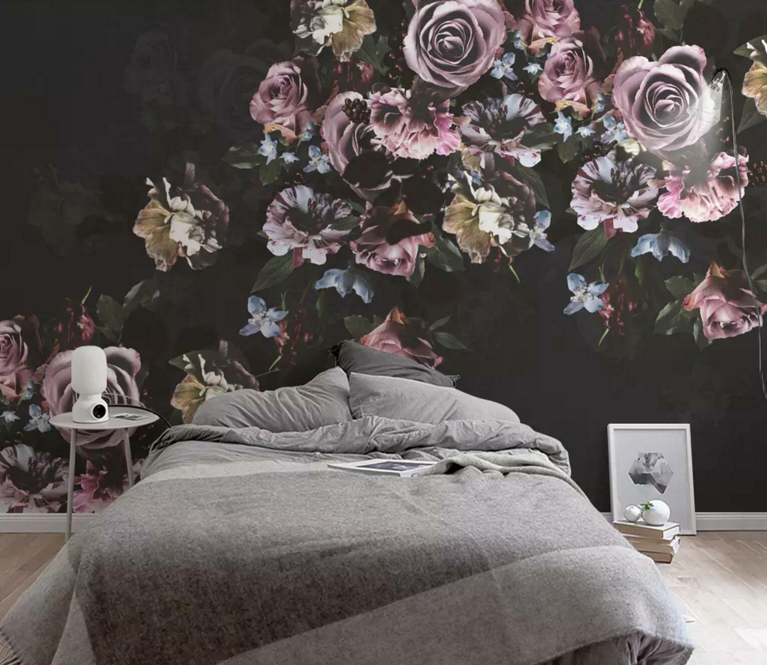 3D Flower Retro 740 Wall Paper Exclusive MXY Wallpaper Mural Decal Indoor Wall