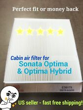 Azera Santa Fe Sonata &Hybrid 11-14 Optima &Hybrid 11-15 CABIN AIR FILTER C36179