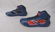 Sparco Men's Shadow KB-7 2016 Karting Shoes Blue/Orange GG8 Size EUR:44 US:11