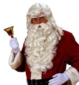 Père Noël Perruque-Père Noël Perruque de Luxe
