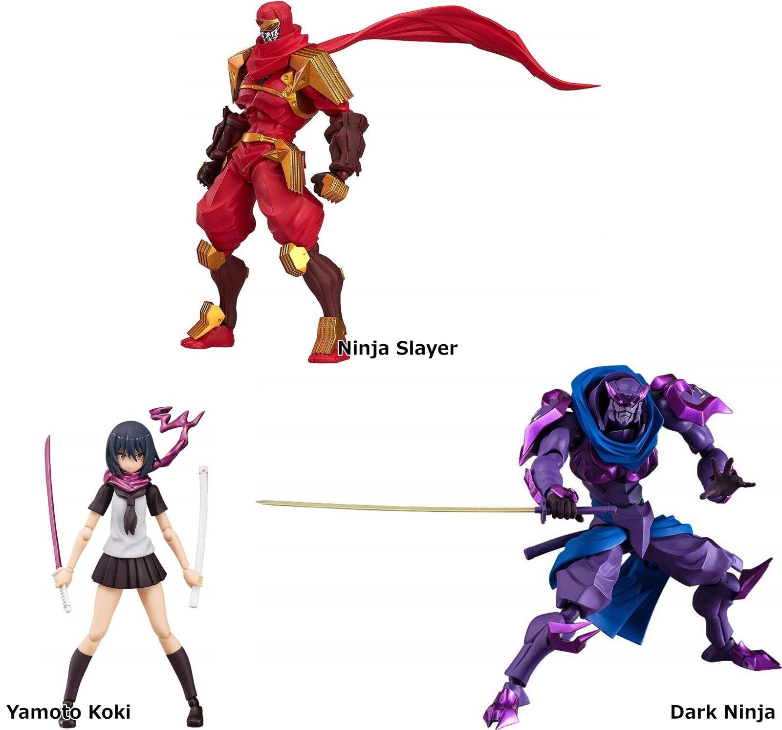 Figma Ninja Slayer From Animation action figure Max Factory Yamoto Koki Dark Nin