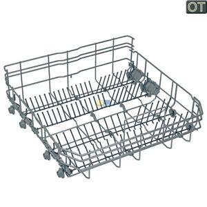 Cesta-para-platos-INFERIOR-8-ruedas-de-Lavavajillas-Original-Bosch-Siemens
