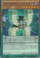 YU-GI-OH CARD: PERFORMAPAL U GO GOLEM - RARE - MACR-EN004