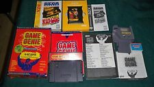 SNES SUPER NINTENDO GAME GENIE GAME BOY SEGA 32X VITUA RACING