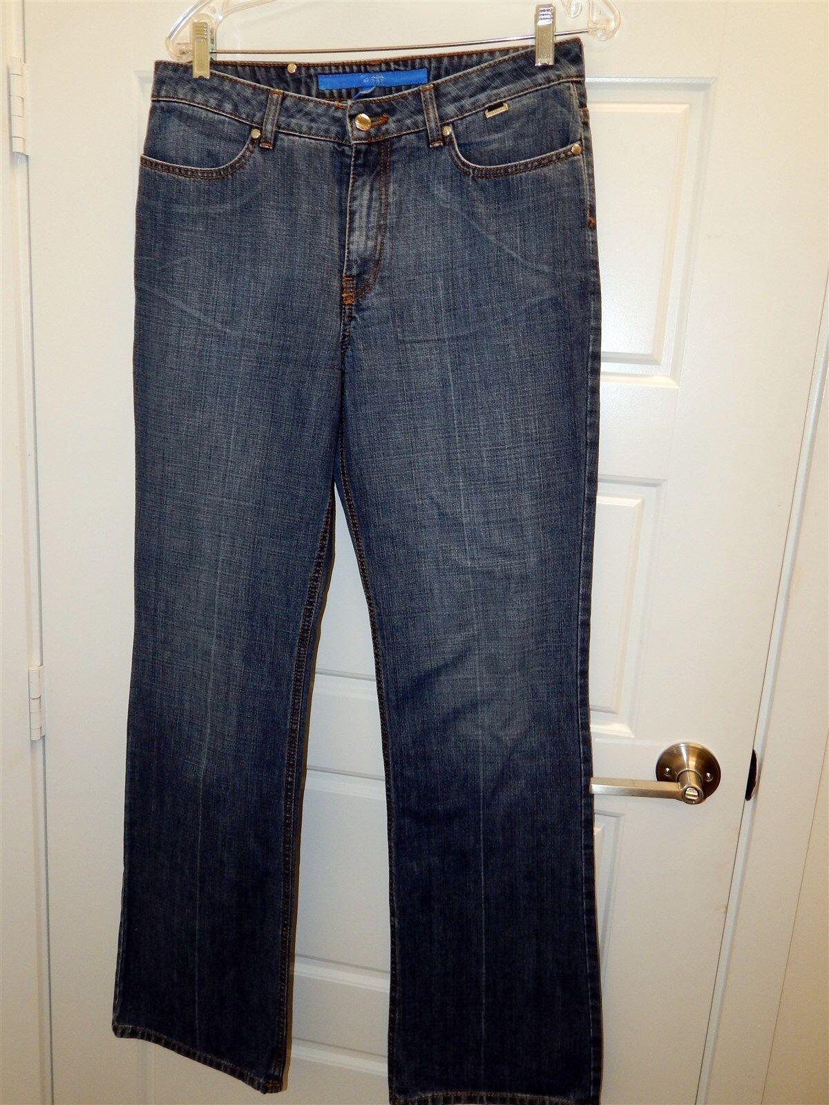 Escada Sport Navy bluee Wash Jeans sz 40