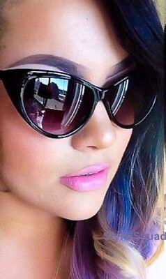 LUX Gloss Cat Eye NIKITA Large Big PunUP Rockabilly WaYf Fashion Sunglasses 1377