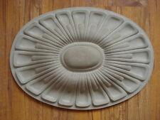 roseta de yeso fachada 100-128B Estuco Artículo joyería para exterior hormigón