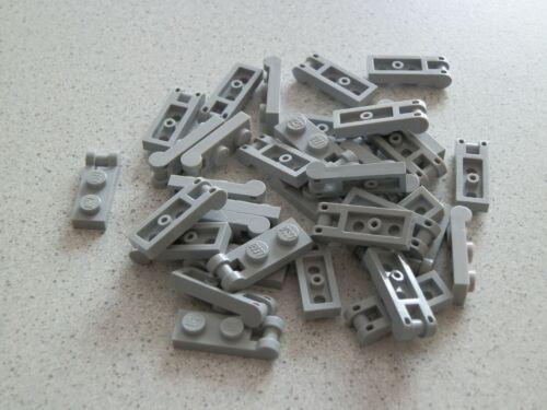 Lego 60478# 36 x Platte 1x2 mit Griff grau neu hellgrau 10212 8037 10188