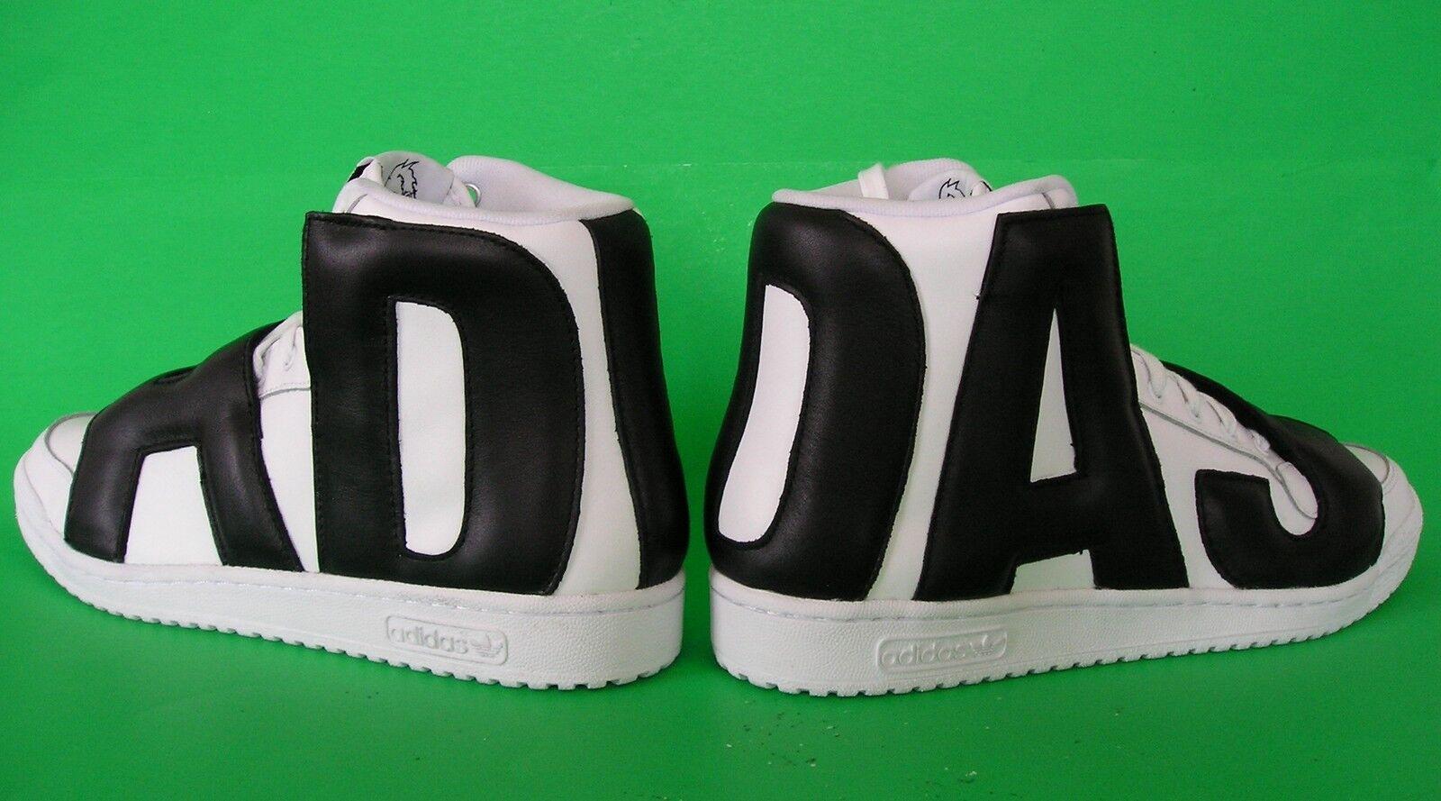 AUTHENTIC-Adidas Originals JEREMY SCOTT JS LETTERS Trainer instinct Shoe~Mens 10