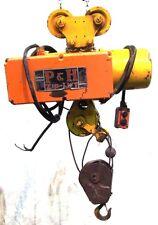 Pamph Zip Lift Harnischfeger Cable Hoist Type Aa2 500 Lb Withtrolley Amp Pendant